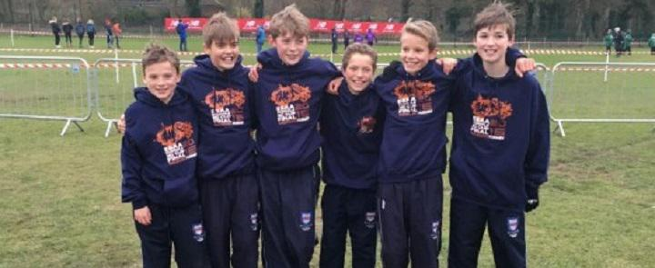 Some of Woodbridge School's successful cross country runners | Dickinson School Consulting