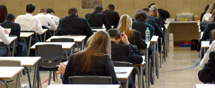 Students sitting their A Level exams | Dickinson British Boarding School Consulting