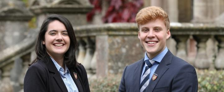 Head Girl & Head Boy of Warminster School | Dickinson School Consulting