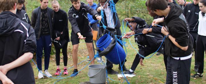 Teambuilding - part of the Bede's Diploma | Dickinson School Consulting