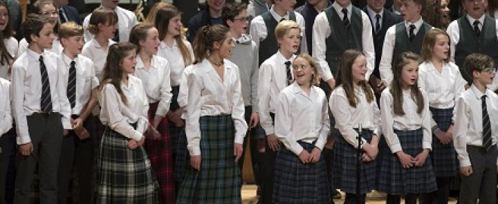 One of Strathallan School's choirs | Dickinson School Consulting