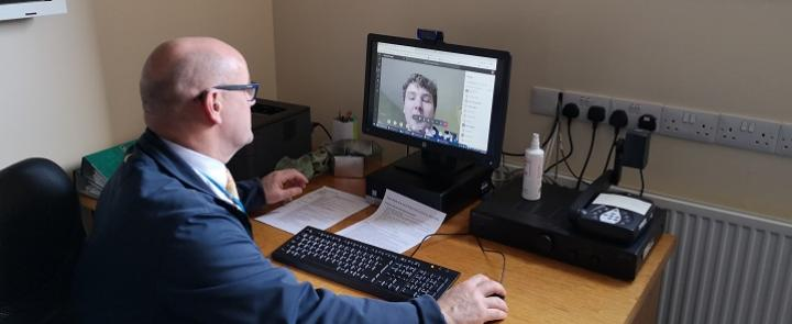 Wellington School via Skype | Dickinson School Consulting