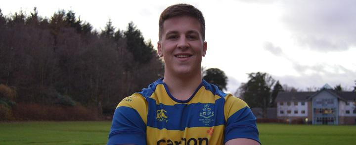 Strathallan School's Scotland U20 rugby player | Dickinson School Consulting