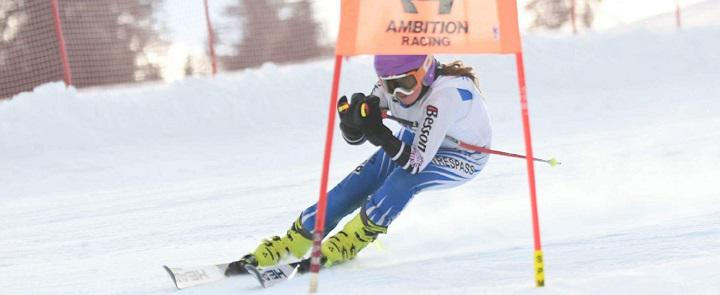 One of Strathallan School's skiers | Dickinson School Consulting