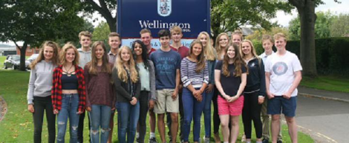 GCSE pupils at Wellington School | Dickinson School Consulting
