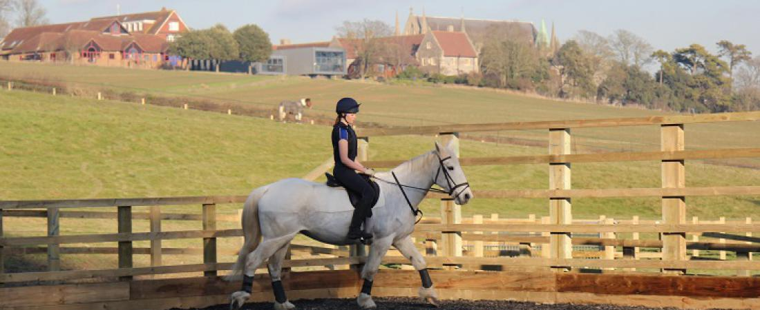 Equestrianism at Lancing College at its newly refurbished centre  | Dickinson British Boarding School Consulting