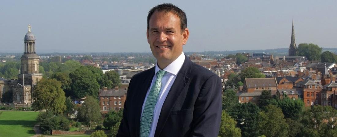 Leo Winkley, Head of Shrewsbury, the Independent School of the Year 2020   Dickinson School Consulting