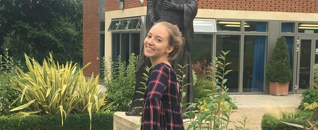 Paulina at Whitgift Summer School 2017   Dickinson School Consulting